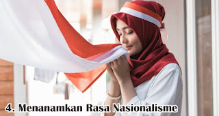 Menanamkan Rasa Nasionalisme merupakan salah satu manfaat ikut serta memperingati hari kemerdekaan