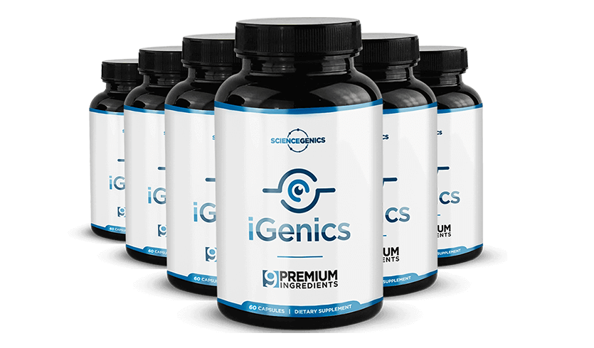 iGenics - Vision Supplement