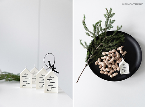 Weihnachtsdeko - Krippe aus Papier selber basteln