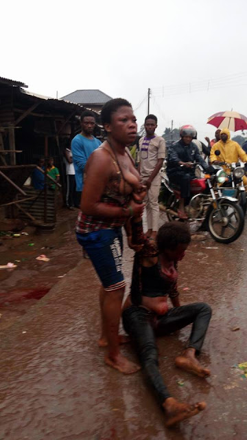 Girl Stripped While Fighting