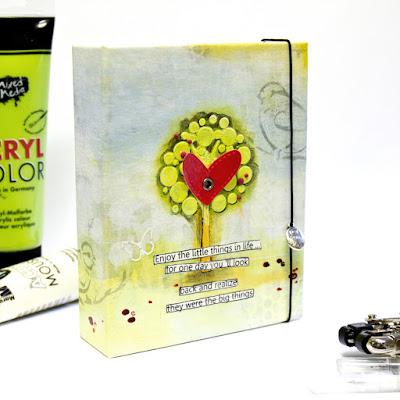 DIY Ringbuch Ordner