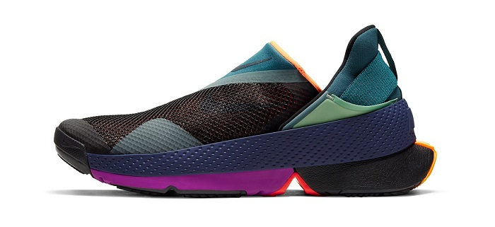 Nike Go FlyEase Hands-Free Sneakers Purple Colour