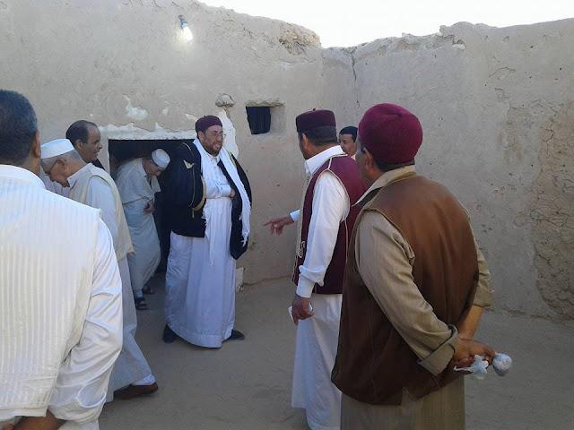 مشائخ وأعيان وقبائل بنغازي