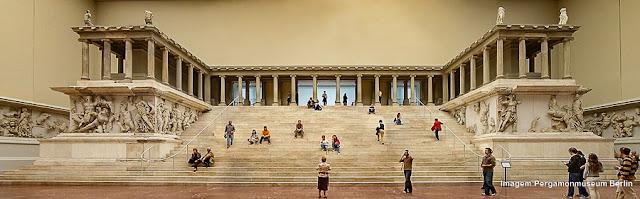 Altar de Pergamon, Museu Pergamon, Berlim