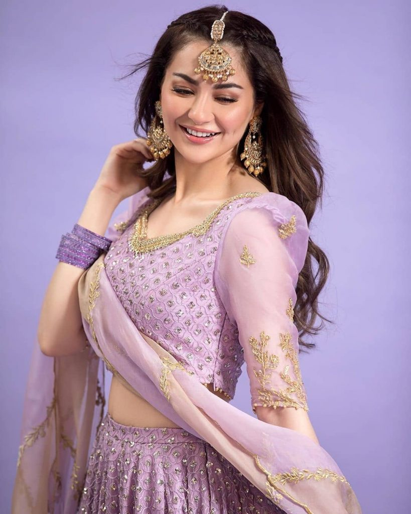 Hania Amir Photoshoot in Lehnga Choli is Bridal Inspiration