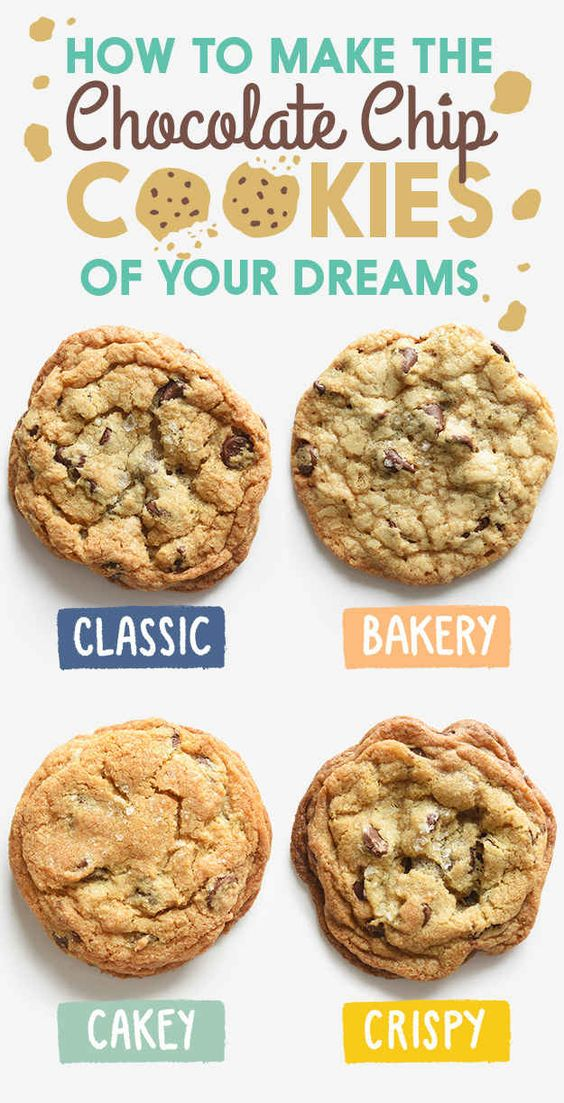 If your idea of heaven is a palm-sized chocolate chip cookie that has almost no crunch, then look no further. This cookie is similar to the ones you might find at your grocery store bakery or at Mrs. Fields stores.