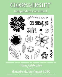 Floral Celebration Stamp Set