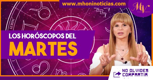 Los horóscopos del MARTES 15 de JUNIO del 2021 - Mhoni Vidente
