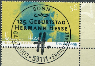 Germany  125.Geb. Hermann Hesse