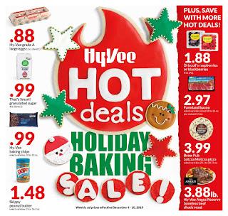 ⭐ Hy Vee Ad 12/11/19 ⭐ HyVee Weekly Ad December 11 2019