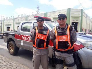 Mudança de trânsito: policia militar realiza educativa no trânsito em Cuité
