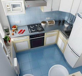 Gambar Dapur Minimalis 3x3
