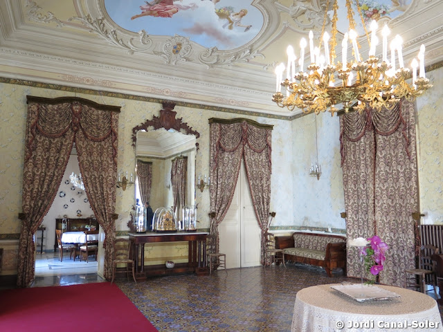 Salón del Palacio Arezzo di Trifiletti