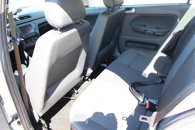 VW Voyage 2019 Automático - espaço traseiro