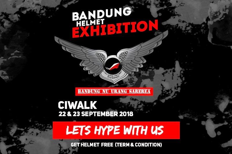 Bandung Helmet Exhibition Kembali Akan Manjakan Para Penggemar Helm