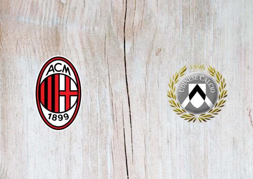 Milan vs Udinese Full Match & Highlights 19 January 2020
