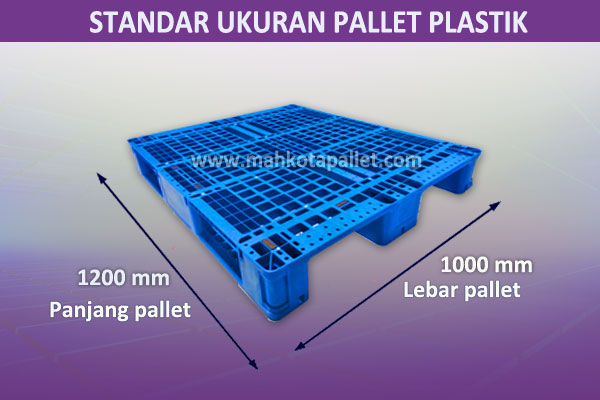 Ukuran Pallet Plastik Standard Industri