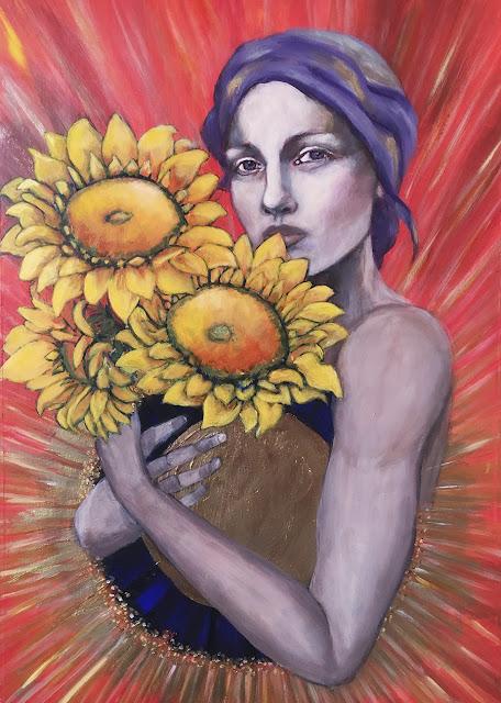 Galia Alena, Manipura- Stardust & Fallen Petals