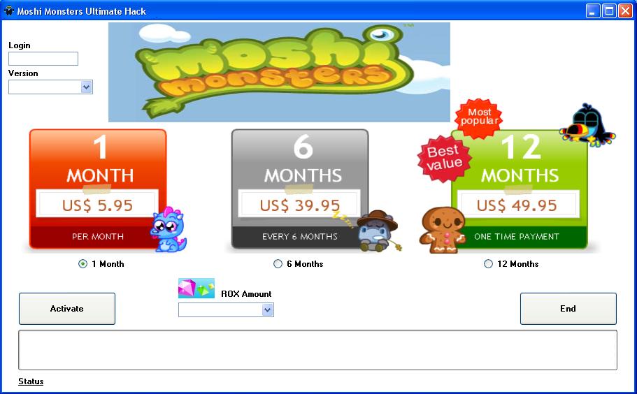 Moshi Monsters Hack Download Free ~ Hacks, Cracks and Keygens - All