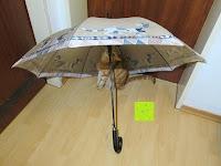 """unter dem Schirm: VON LILIENFELD Regenschirm Automatik Rosina Wachtmeister: """"Brunello"""""""