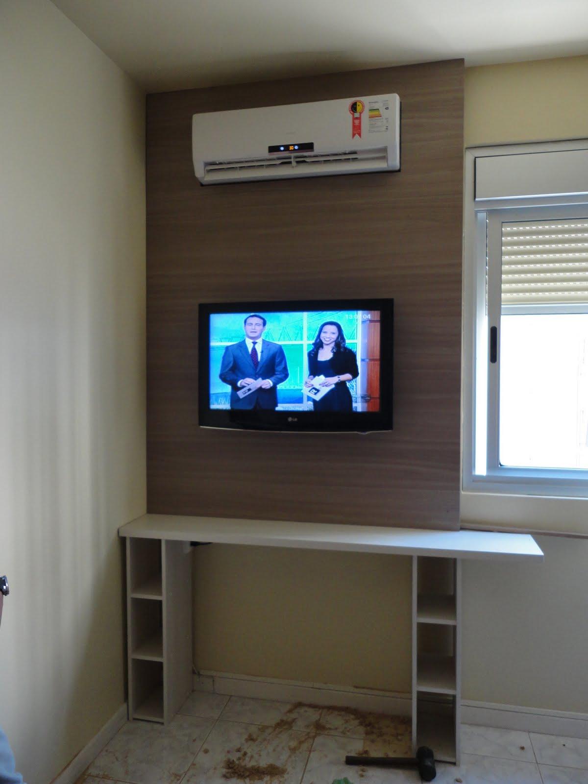 Martins Oficina Design Painel TV para quarto