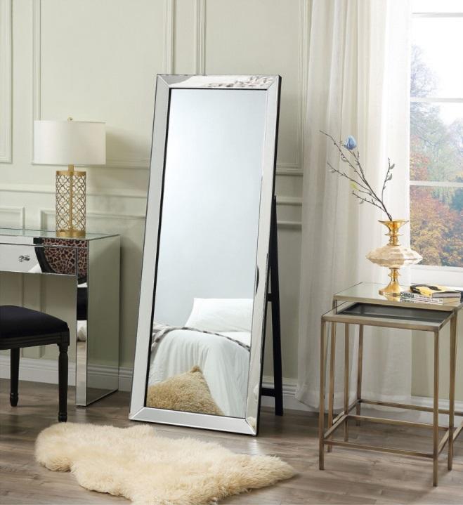 Inspired Home Kiara Full Length Cheval Floor Standing Mirror
