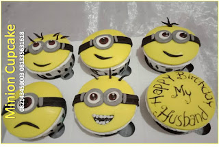 Cupcake Minion imut lucu unik