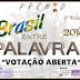 Votação Aberta: Prémio Brasil Entre Palavras 2018