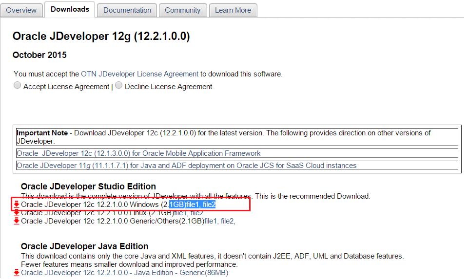 Oracle 12c License