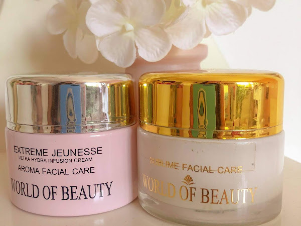 Recensione World of Beauty - Extreme Jeunesse & Neroli Mask