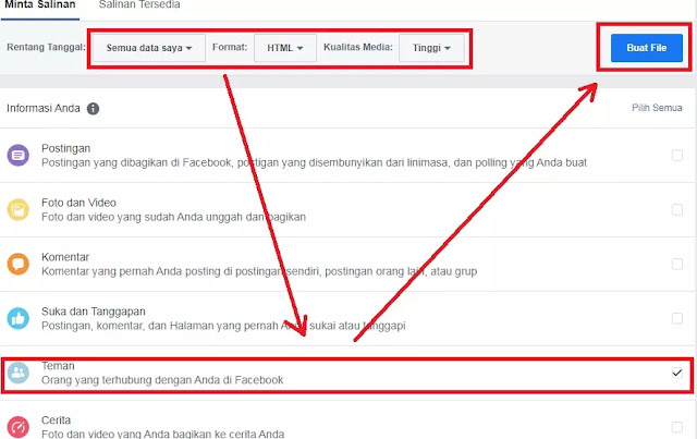 Cara Impor Kontak Facebook ke Gmail-3