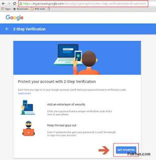 2-Step Verification Get Started