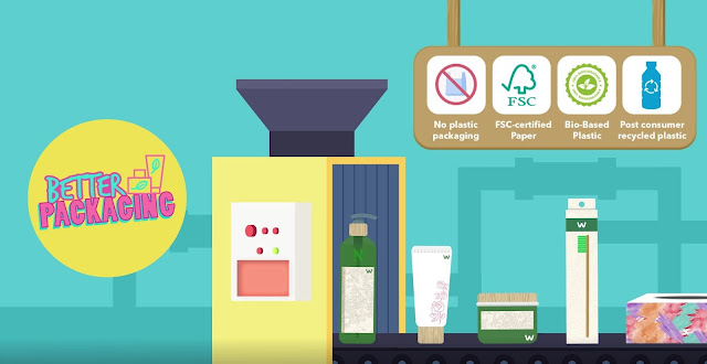 Watsons Sustainable Choices - Better Packaging