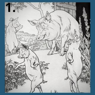 Pig moral story in Hindi