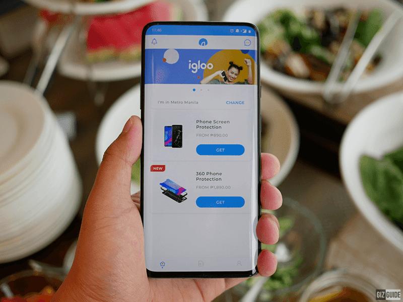 The igloo mobile app