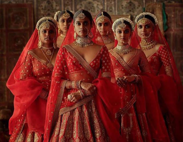 Современные индийские свадебные наряды, которые не оставят равнодушной ни одну девушку