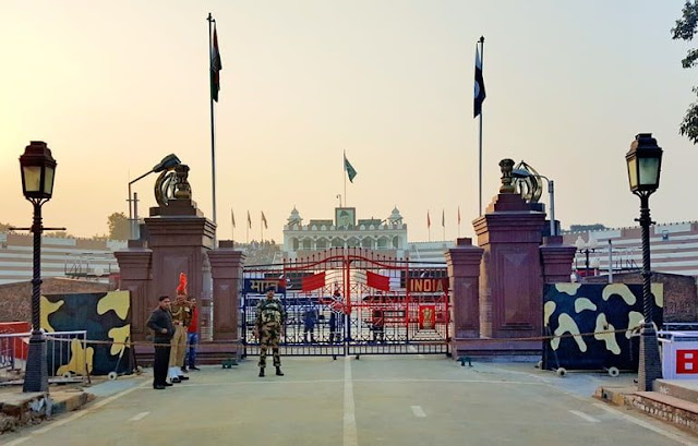 Wagah Border Parade Timing