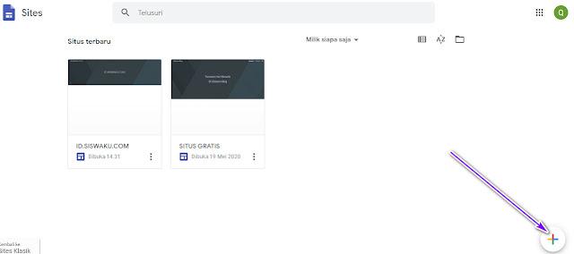 Custom Domain Google Site Dengan Mudah
