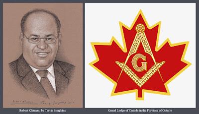 Robert Kliaman. Freemason. Grand Lodge of Canada in the Province of Ontario. by Travis Simpkins