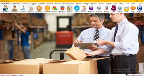 SALES AND INVENTORY MANAGEMENT SOFTWARE WITH BARCODE AND ACCOUNTING SOURCE CODE