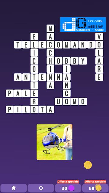 Soluzioni One Clue Crossword livello 14 schemi 8 (Cruciverba illustrato)  | Parole e foto