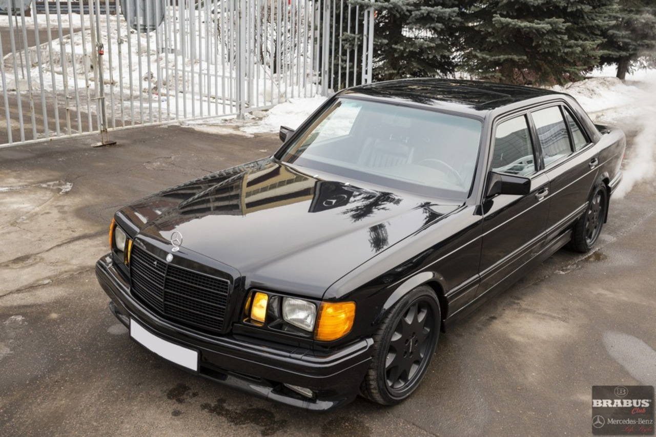 Mercedes benz w126 560 sel brabus benztuning for Mercedes benz w126