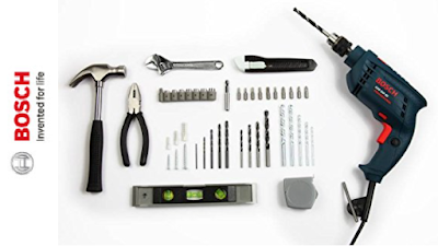 Bosch GSB 500W 500 RE Tool Set to Manage a Variety of Repair Jobs on a Day to Day Basis