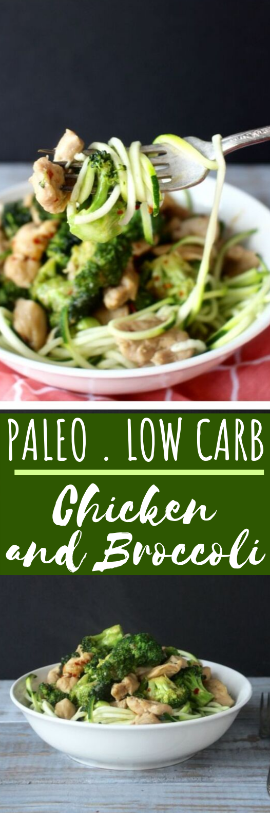 Paleo Chicken and Broccoli #healthy #lowcarb