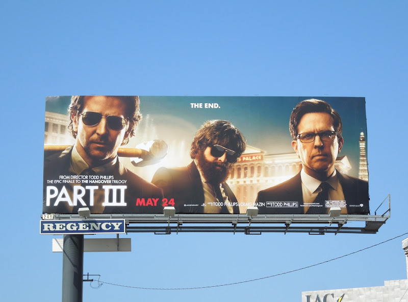 Hangover Part3 billboard