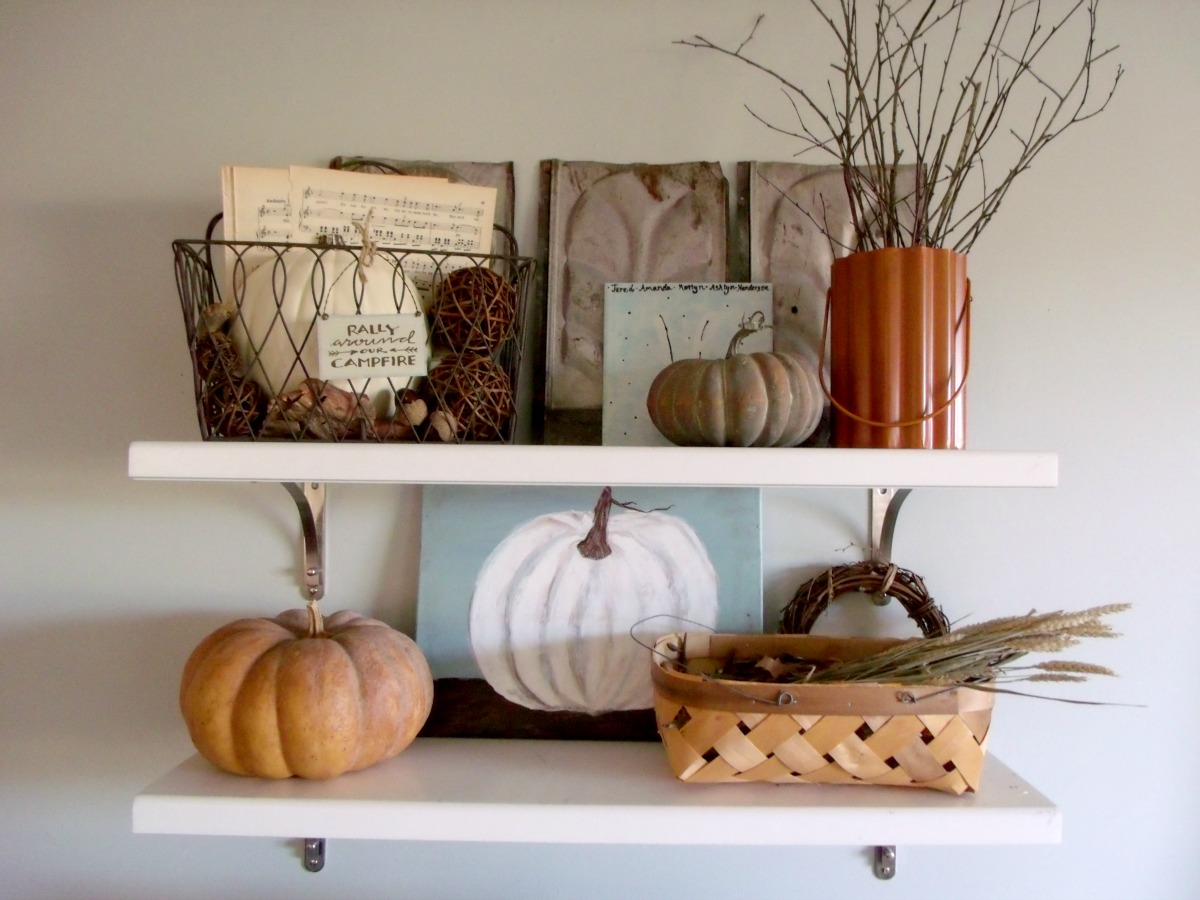 Adventures In Decorating Our 2015 Fall Kitchen: Cultivate Create: Fall Home Tour Part 1: Kitchen And Dining