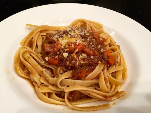 Franco's Bolognese--Perfect Comfort Food for a Rainy Weekend!