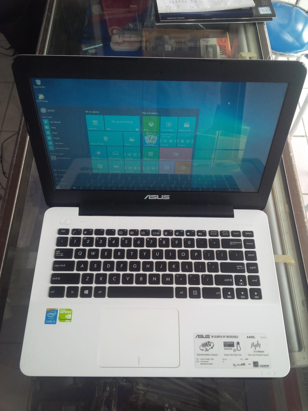 Notebook Murah Asus A455lf Core I3 Daftar Harga Terlengkap Wx158d Graphic Spesifikasi Laptop Bekas Processors Intel 4005u 17ghz