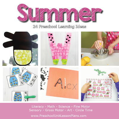 Summer Preschool Theme
