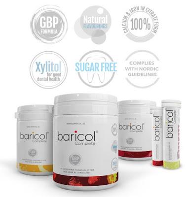 أقراص المضغ باريكول ملتي فيتامين
